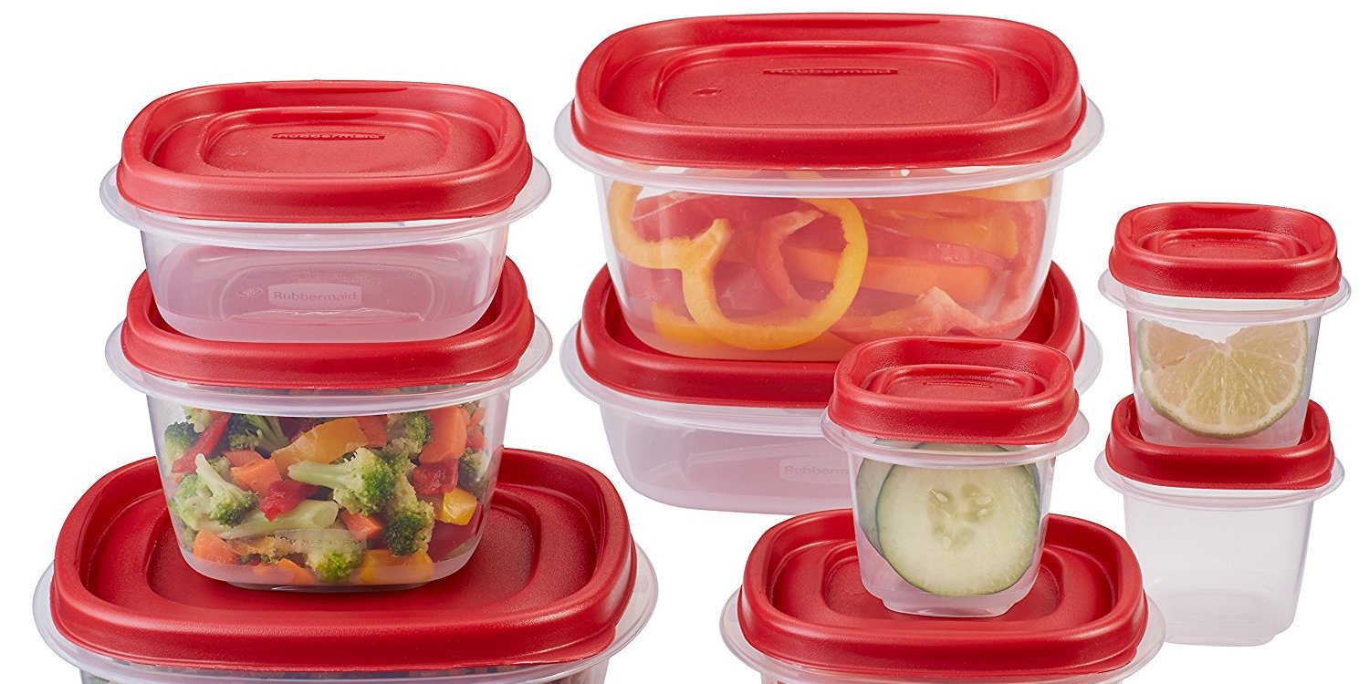 rubbermaid kitchen storage containers backsplash options food container sets from under 7 prime shipped