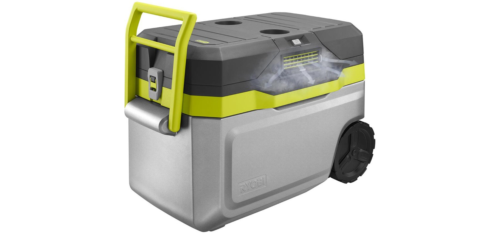 Ryobi's Cooler will keep both you and your drinks chilled this summer