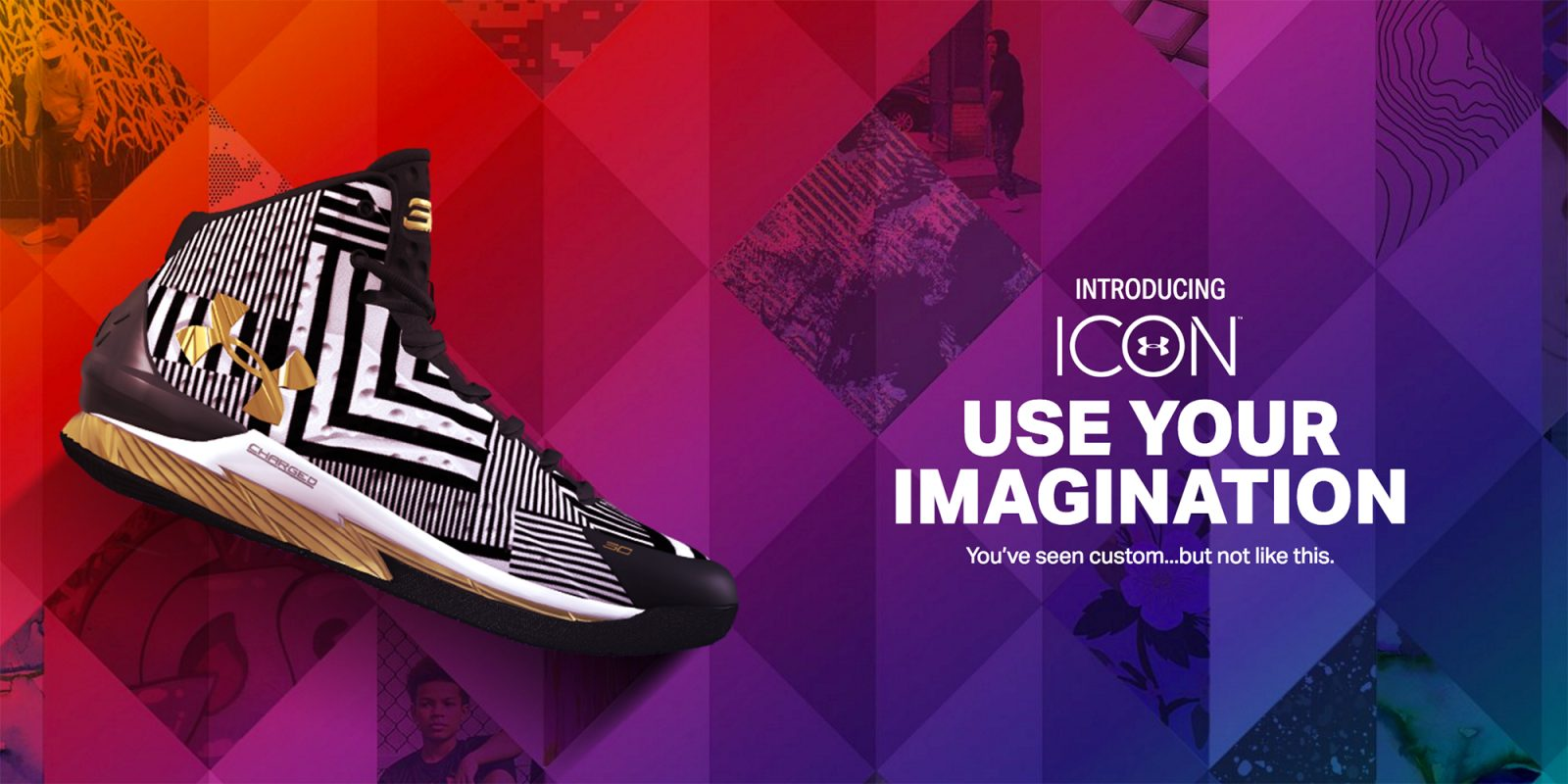 e759c663986 Under Armour launches Icon Studio that turns your iPhone photos into shoes