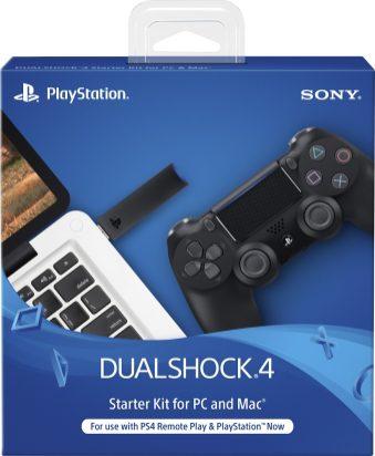 DualShock 4 Wireless Controller Starter Kit for PlayStation 4