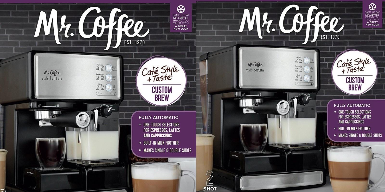 Mr. Coffee Automatic Espresso Machine for just $119.50 shipped (Reg. $160+)