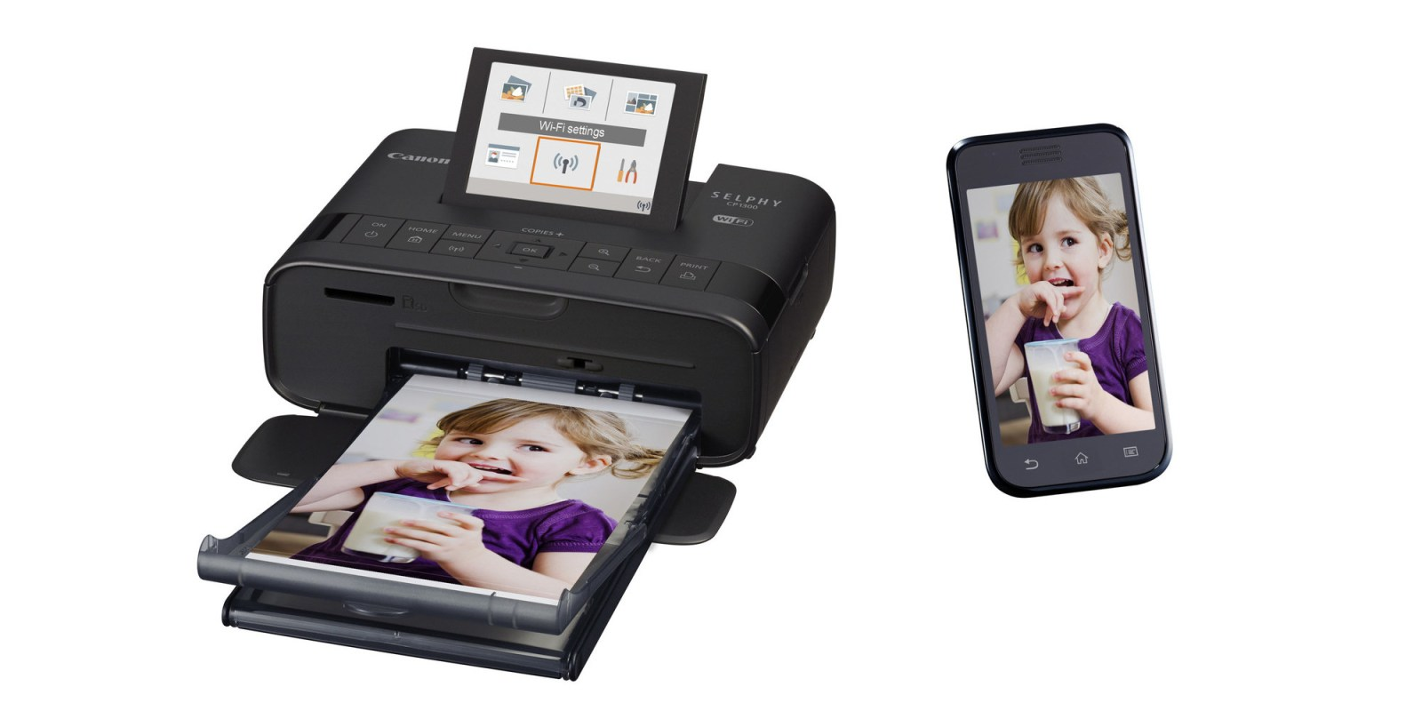 Canon unveils the latest gen SELPHY wireless printer with AirPrint & LCD display