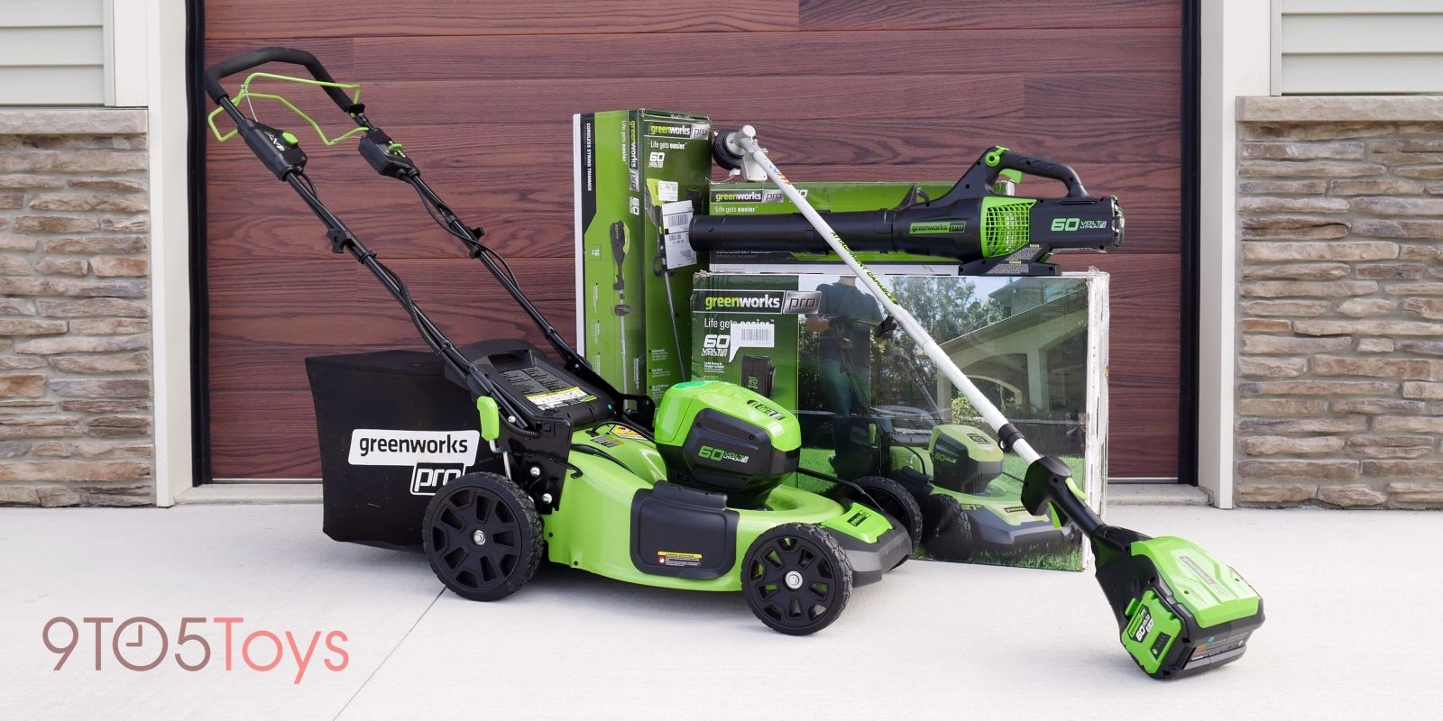greenworks pro 60v review farewell gas outdoor tools i m all electric now [ 1600 x 800 Pixel ]