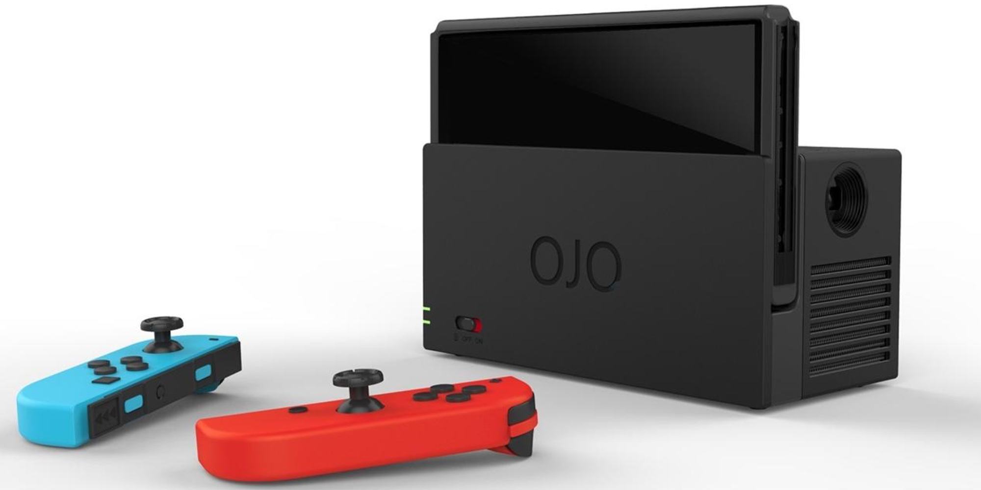 Ojo Is The World S First Projector For Nintendo Switch