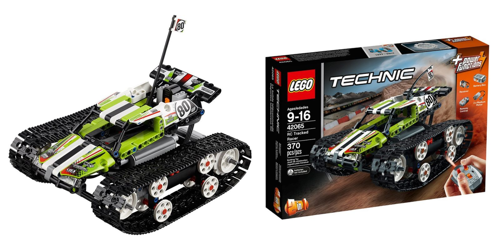 Lego Technic Rc Tracked Racer Hits New Amazon Low At 80