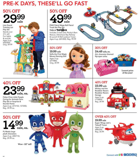 Magnificent Toys R Us Black Friday 2017 Ad Ps4 Xbox Lego Nerf Fisher Onthecornerstone Fun Painted Chair Ideas Images Onthecornerstoneorg