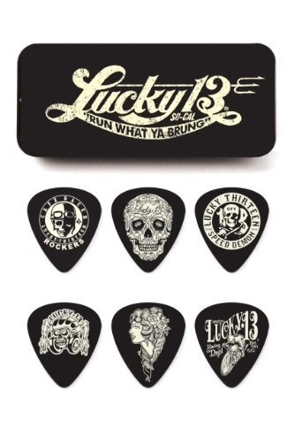 Dunlop Lucky Guitar Pick Tin-1