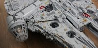 Review: LEGOs 7,500-piece Millennium Falcon is the ...