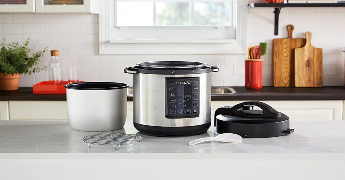 Crock-Pot's Express 6-Qt. Multi-Cooker is yours for just $40 (Today only, Reg. up to $100)
