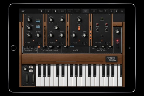 Minimoog Model D for iOS-3