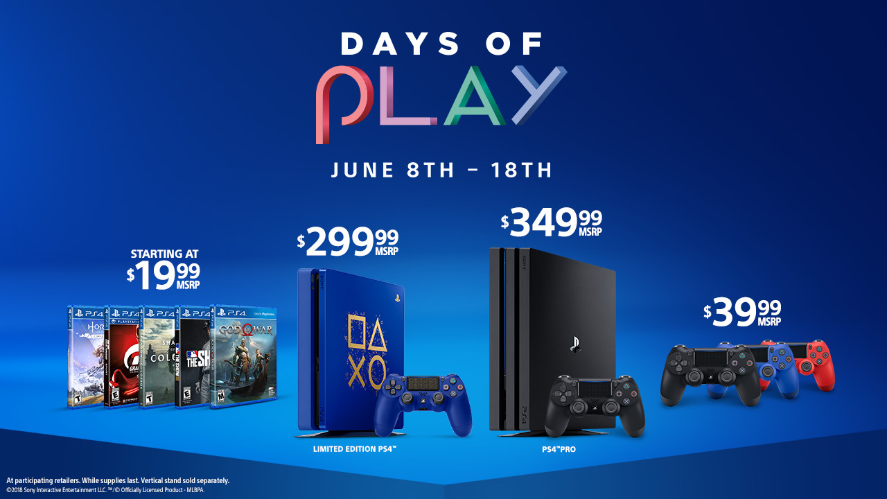 Sony Launches Massive Summer Price Drops 50 Off Ps4 Pro