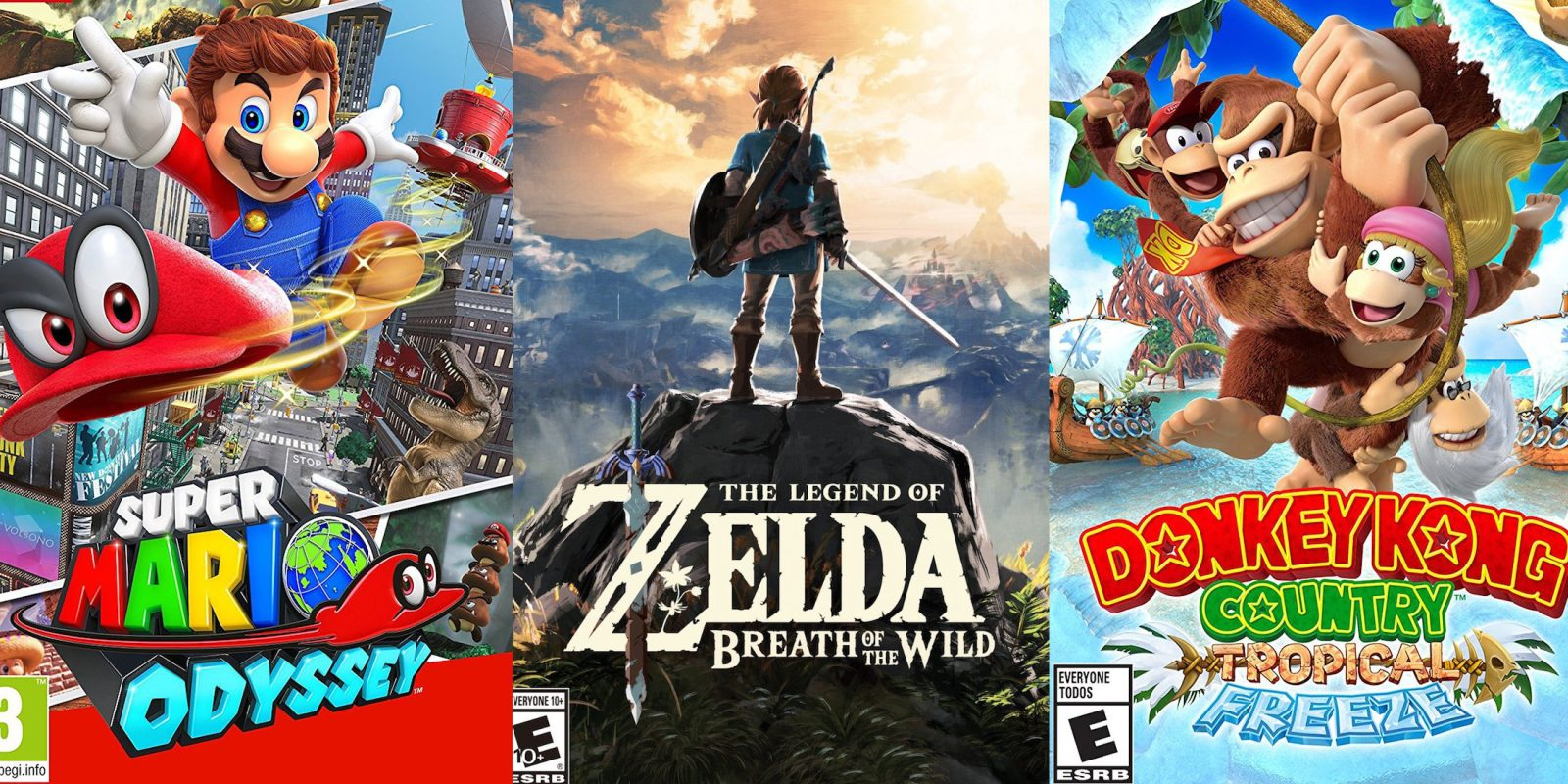 Nintendo Switch Games From 45 Or Less Zelda Mario Toad