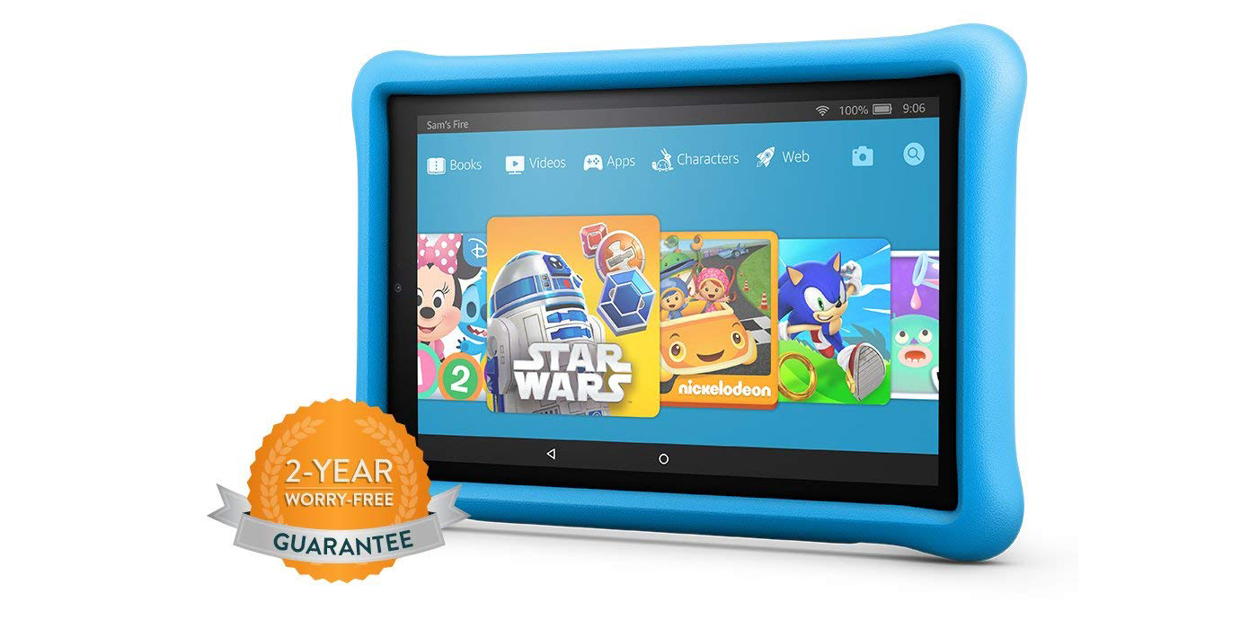 Amazon S Fire Hd 10 Kids Tablet Ships W 2 Year Warranty