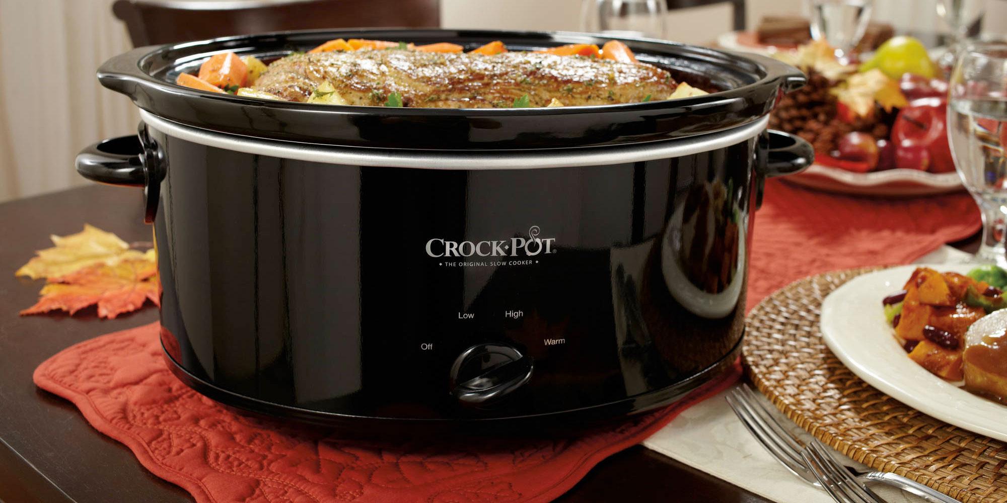Enjoy Roast & Carrots With 7-qt. Crock-pot Slow Cooker 20 Reg. 30 - 9to5toys