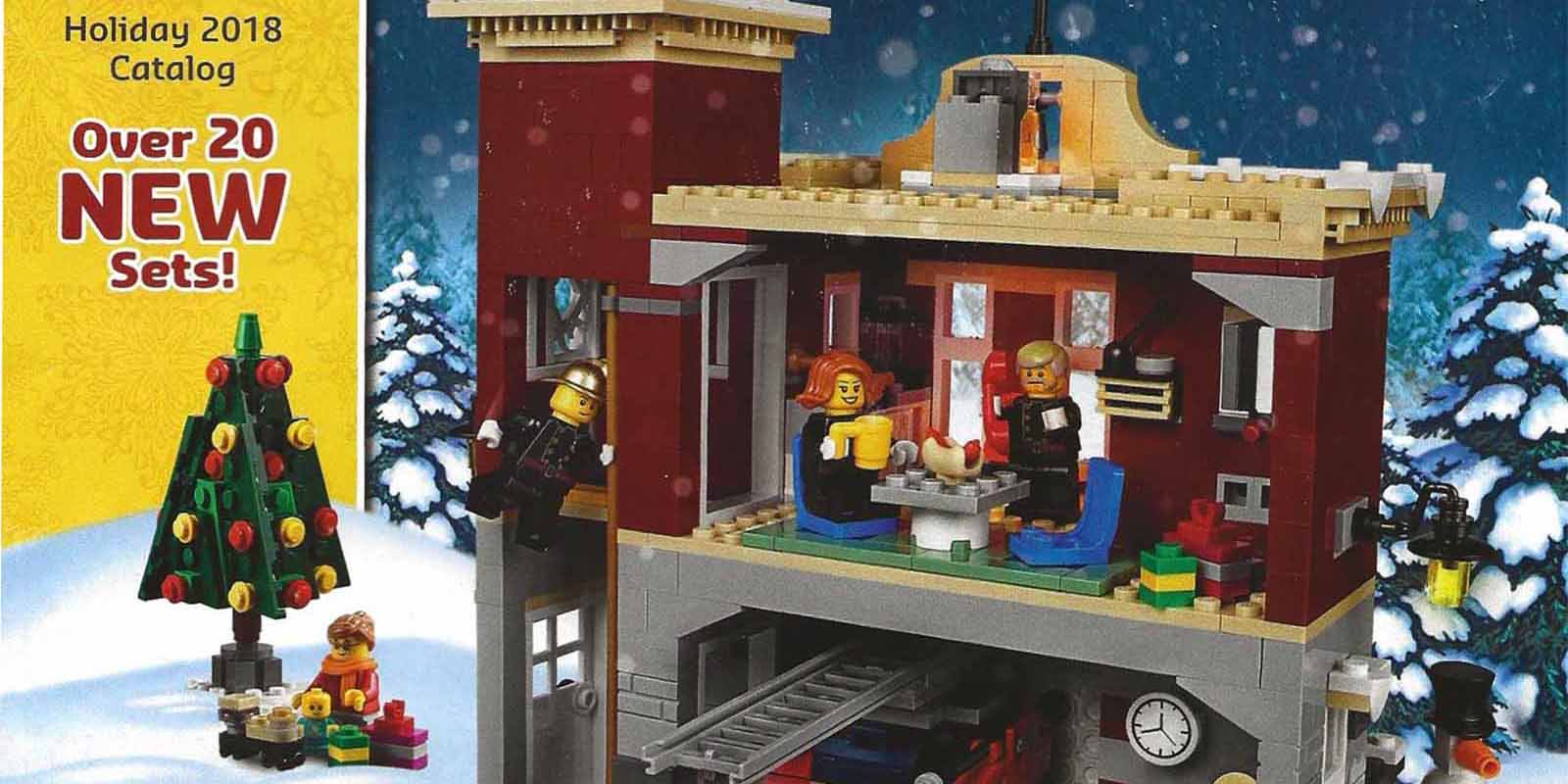 Winter Lego City Sets 2018 - Year of Clean Water