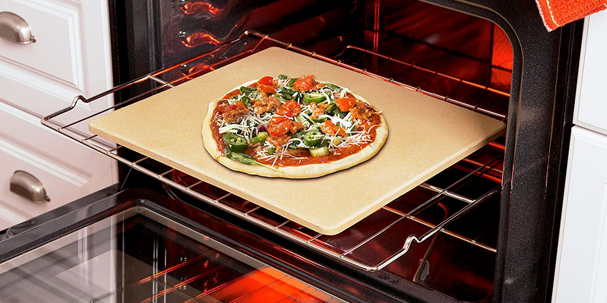 Bake Pizza Pro With 30 Rectangular Oven Stone Reg. 40 - 9to5toys