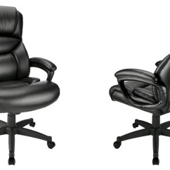 Realspace Fosner High Back Bonded Leather Chair Mini Lounge Chairs Make Yourself Comfortable With This Highly Rated