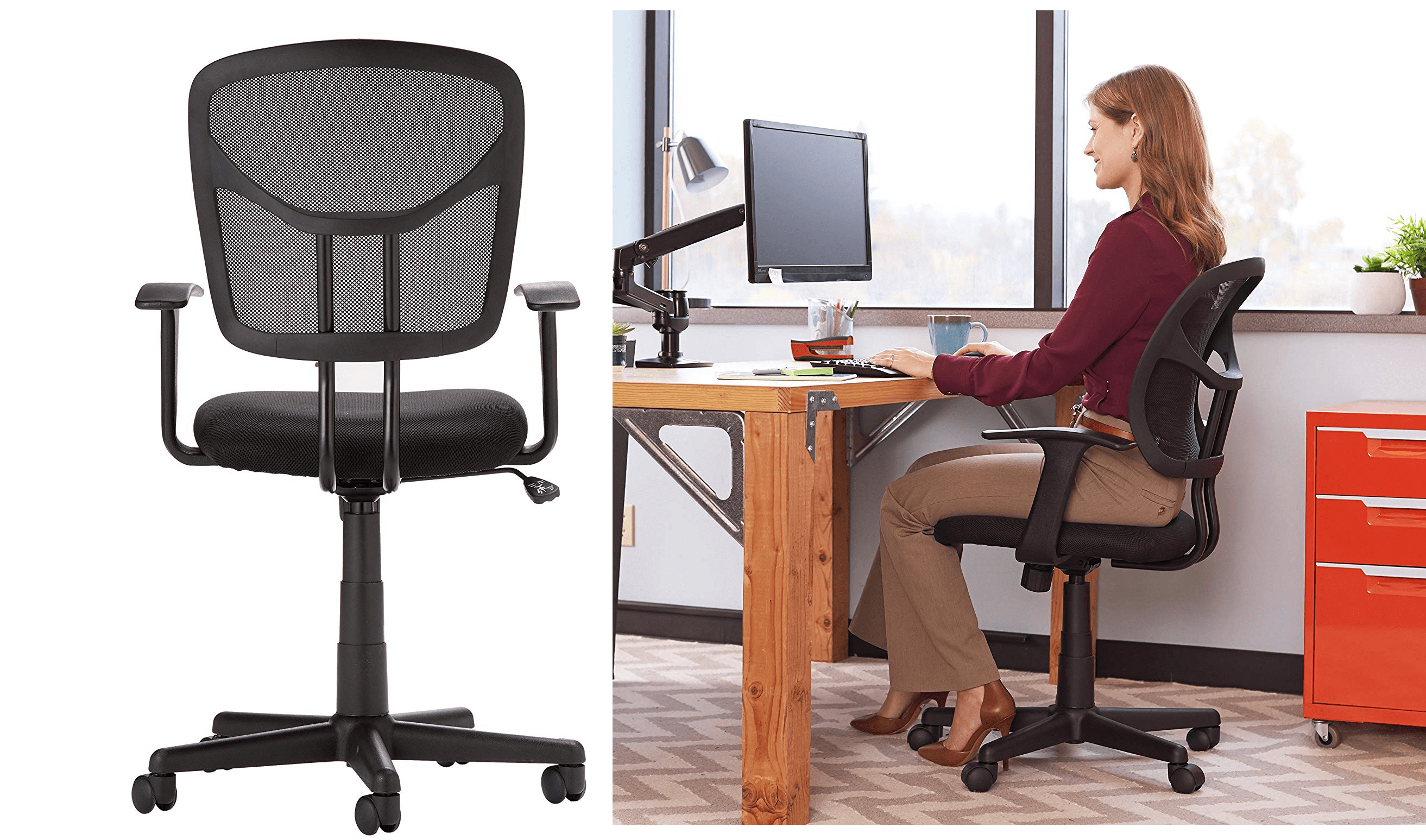 throne office chair mall massage it s time to upgrade your with this ergonomic amazonbasics 46 50 reg 60