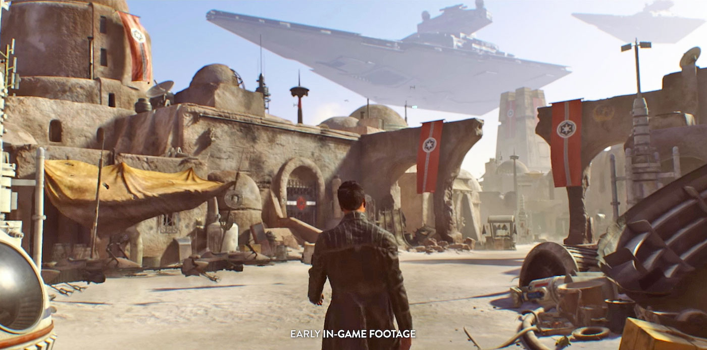 Ea S Open World Star Wars Game Now Cancelled Smaller