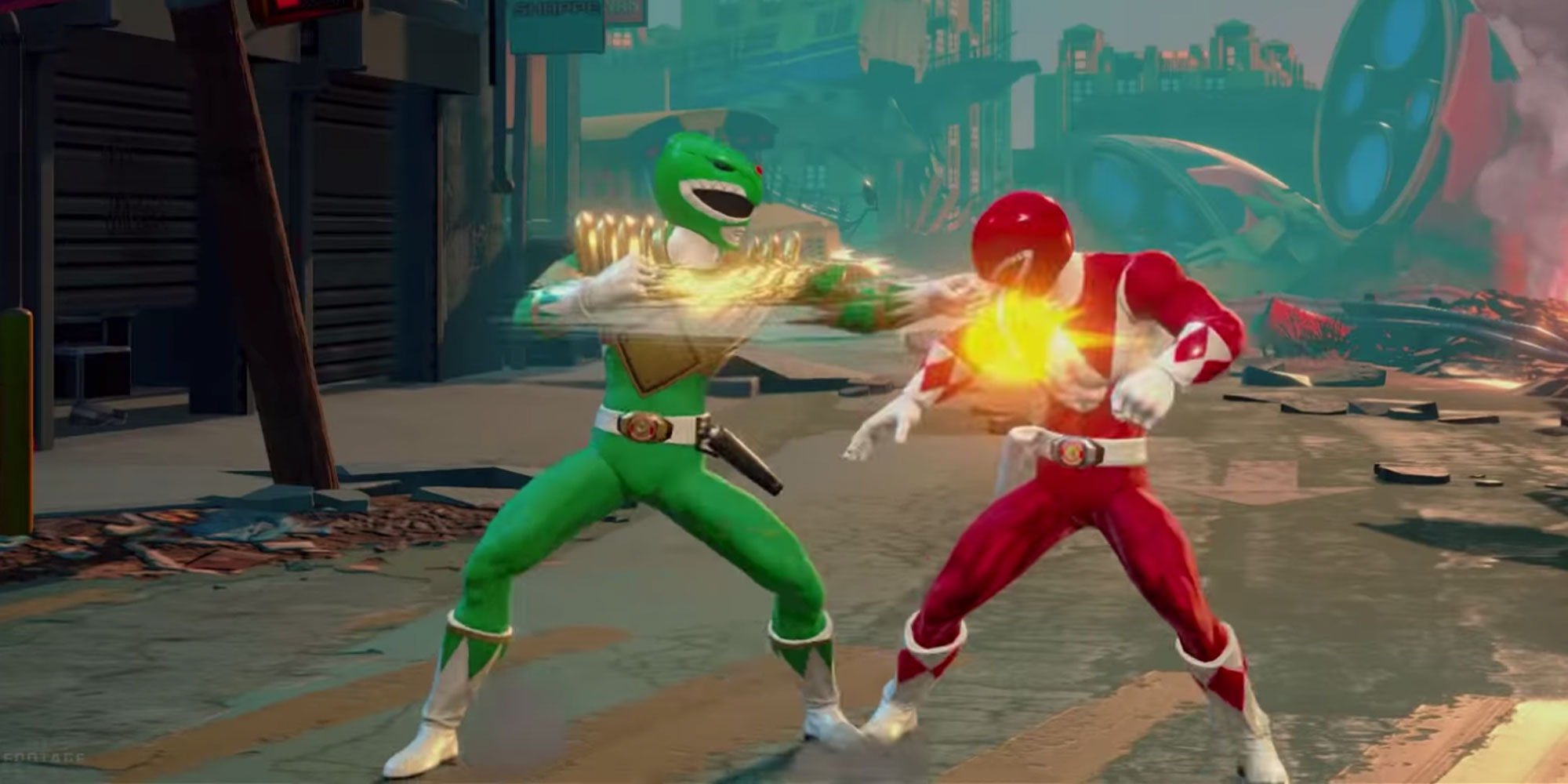 Power Rangers Battle For The Grid On Switch Ps4 Xbox