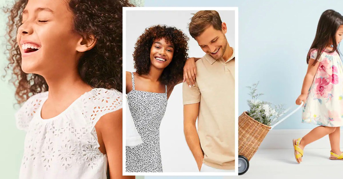 GAP cuts up to 70% off select styles + extra 30% off your order: shorts, t-shirts, more - 9to5Toys