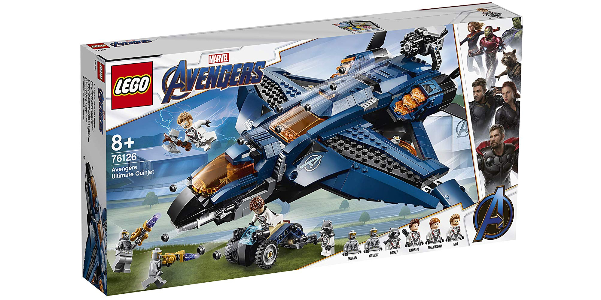Lego Avengers Endgame Sets Are Here W New Minifigs More