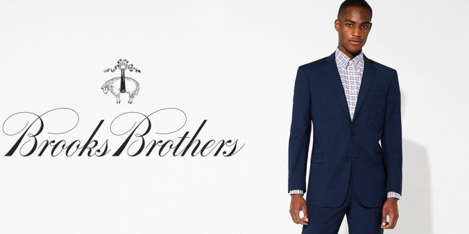 Polish your wardrobe with Brooks Brothers shirts, suits and more ...