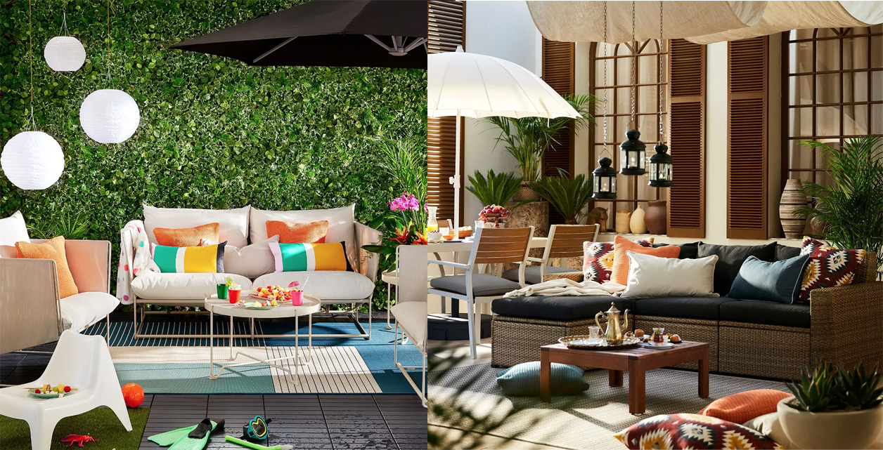 ikea's outdoor furniture collection