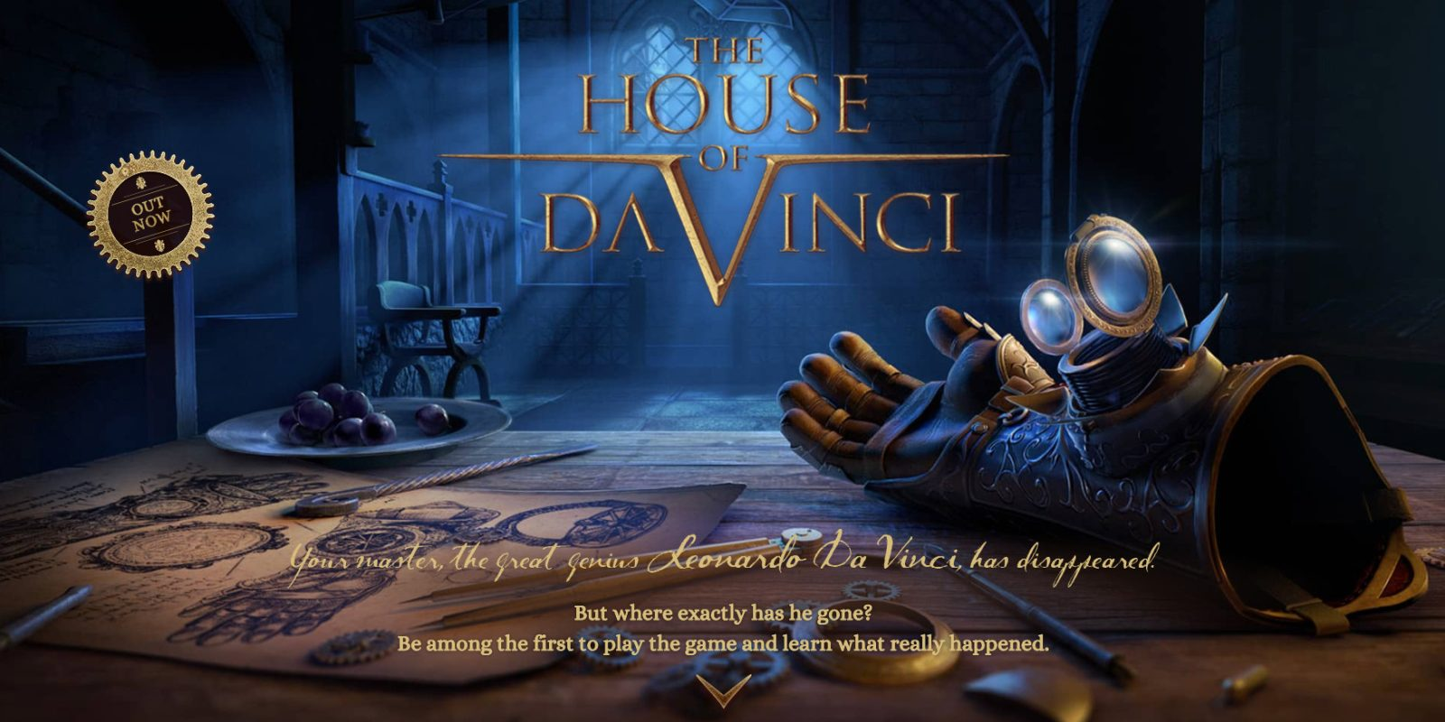 Escape Room Meets Adventure Game House Of Da Vinci Drops