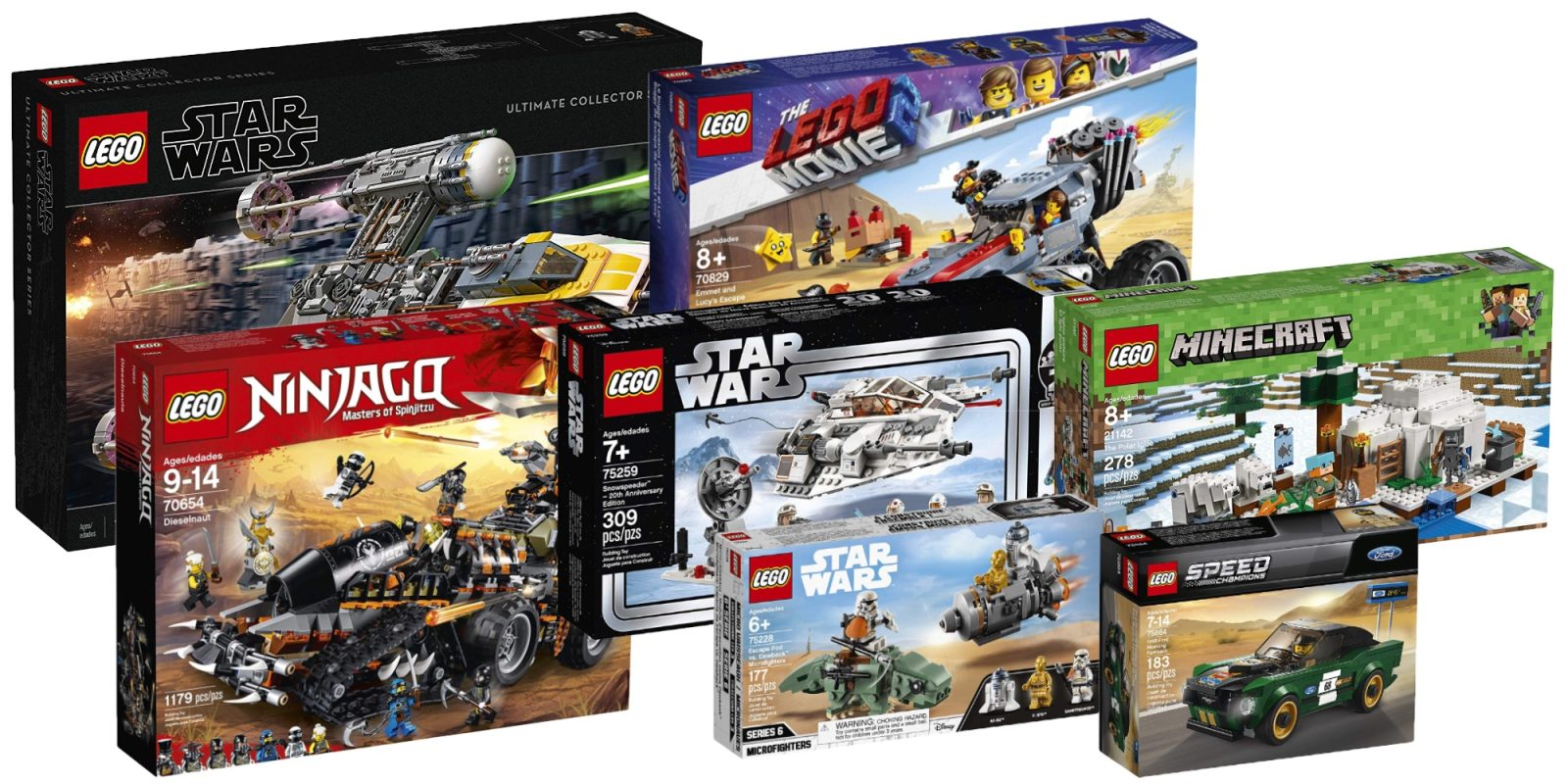 Best Amazon Lego Deals Offer All Time Lows On Plenty Of