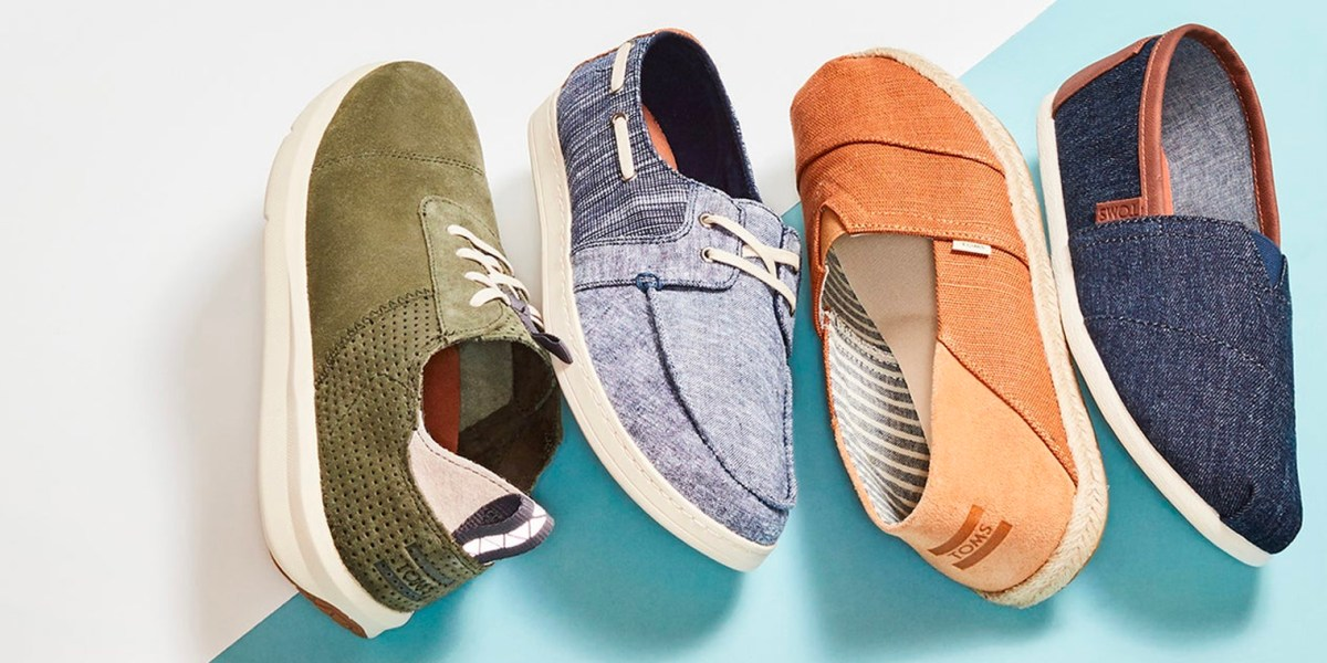 toms shoes for men and women from just
