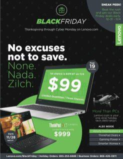Lenovo Black Friday 2019 Ad 1
