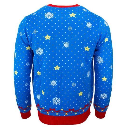 Ugly Nintendo Christmas sweaters