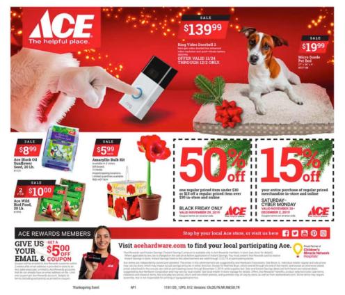 Ace Hardware Black Friday 2019-12