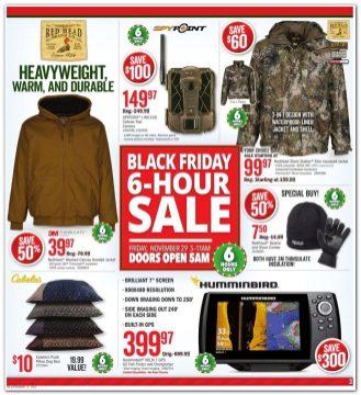 Bass Pro Shops Cabelas Black Friday Ad 2019 2