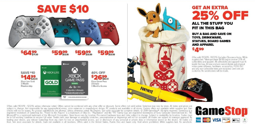 GameStop Black Friday Preview
