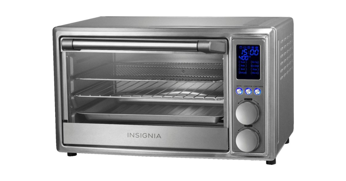 Score a steel toaster oven air fryer combo with cookie, pizza settings for $70 shipped (Reg. $150) - 9to5Toys