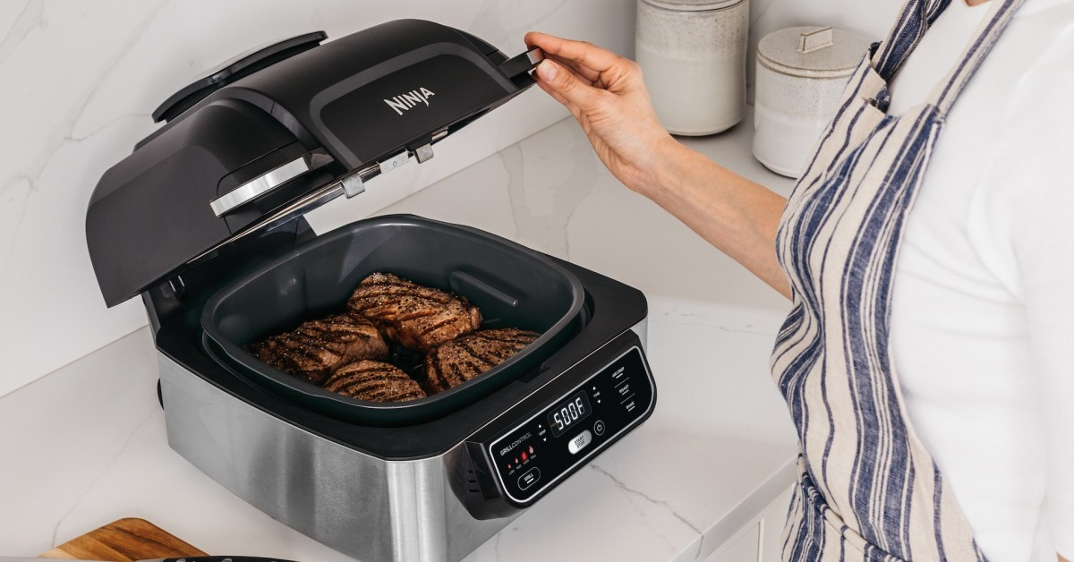 Ninja's refurb Foodi multi-cooker grill and air fryer now $100 Prime shipped (Orig. $210) - 9to5Toys