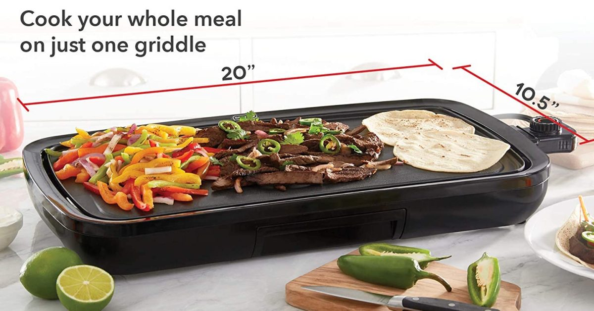 Amazon has the Dash Everyday Electric Griddle on sale for $40 today (20% off) - 9to5Toys