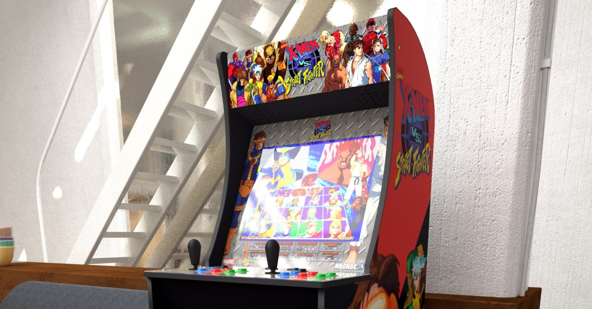 Arcade1Up's X-Men vs. Street Fighter Cabinet sees first discount at $150 off, more from $29 - 9to5Toys