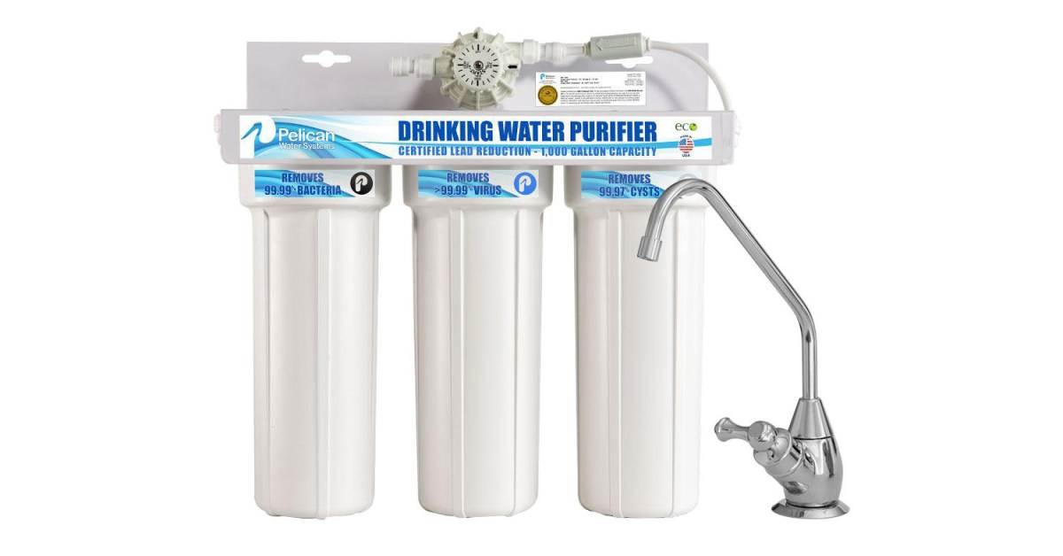 Home Depot's 1-day water filtration sale takes up to 25% off whole-home systems, more