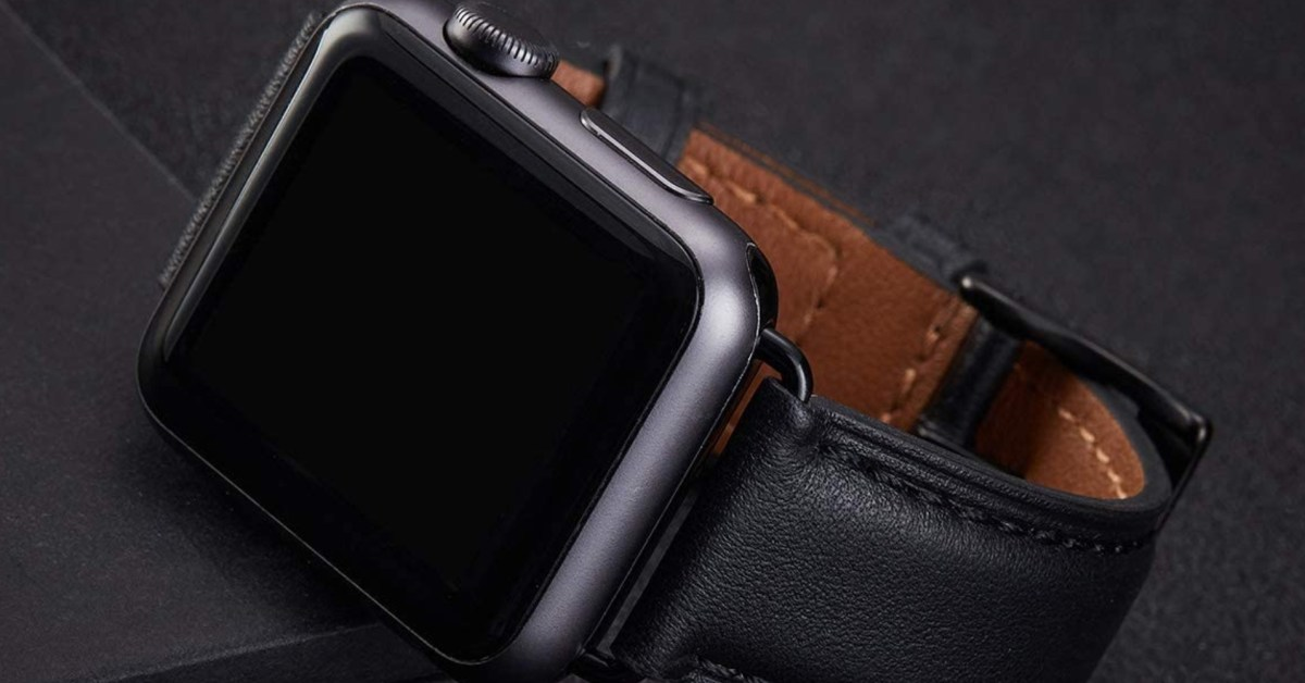 Genuine leather Apple Watch bands in various styles on sale for $8 (Save 50%) - 9to5Toys