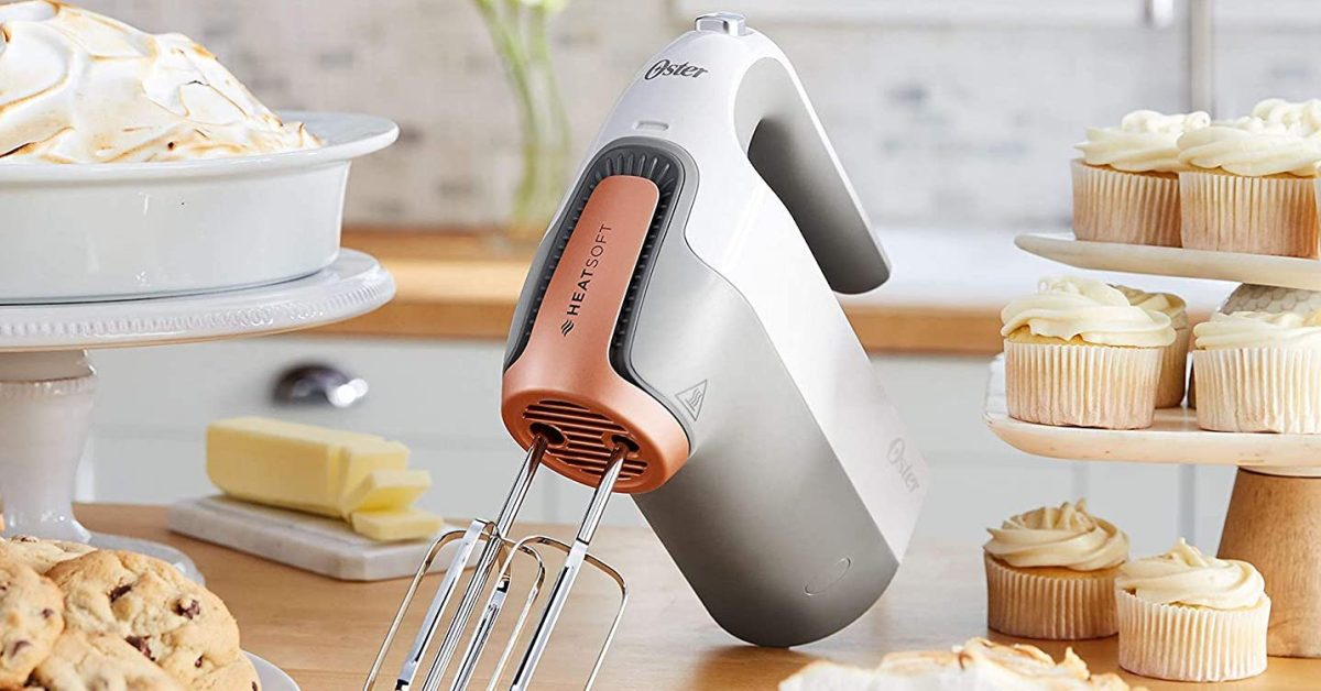 Oster HeatSoft Hand Mixer now $45.50 (Reg. $100) + more kitchenware up to 51% off - 9to5Toys
