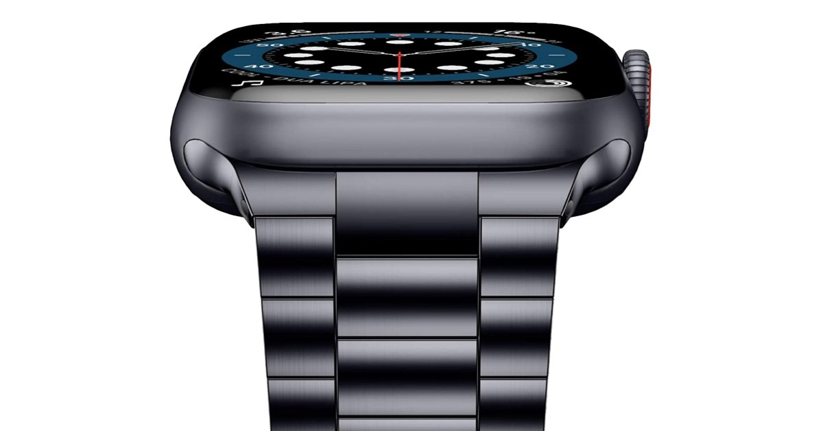Put this sleek stainless steel band on your Apple Watch for $15.50 - 9to5Toys
