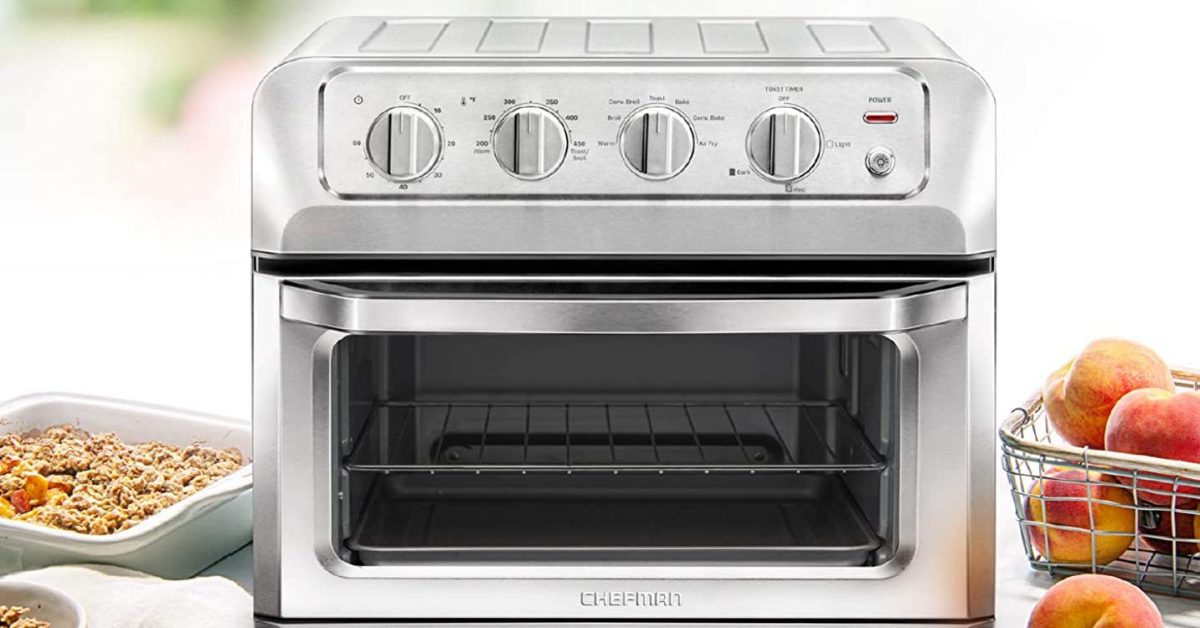 Chefman's regularly $150 Toast-Air Convection Oven and Air Fryer is down at $90 for today only - 9to5Toys