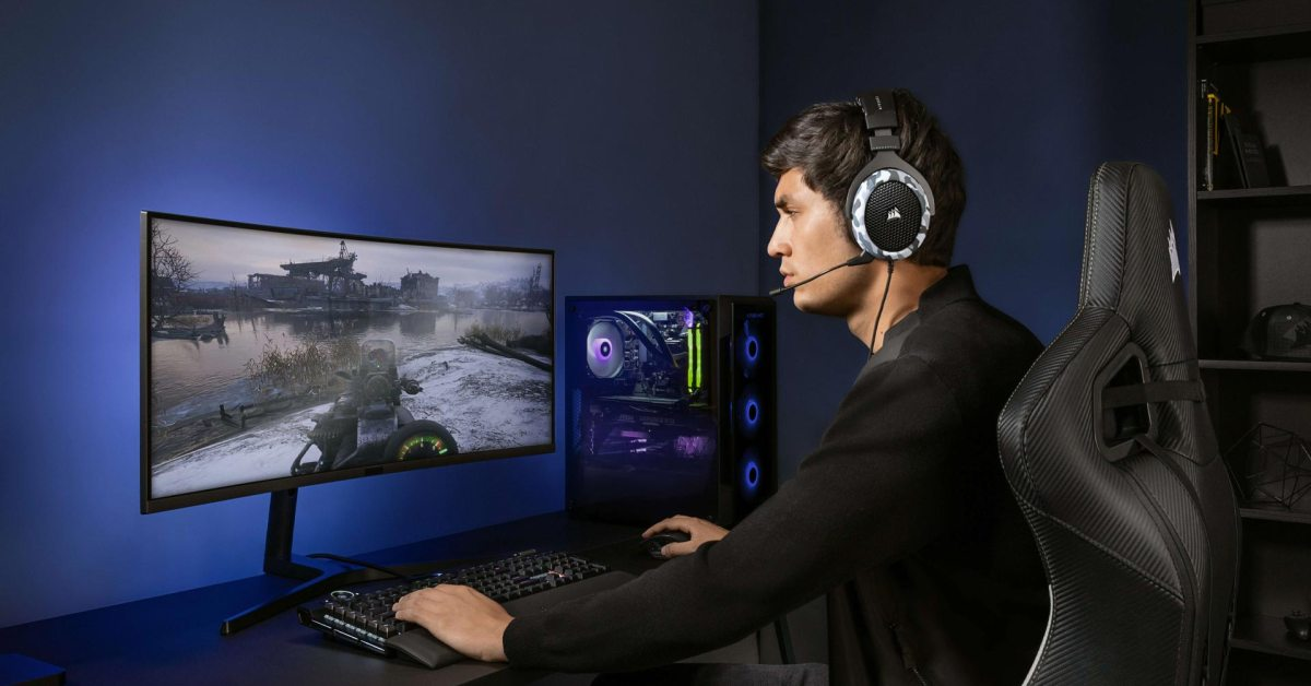 CORSAIR's HS60 HAPTIC headset lets you feel the bass at 23% off, now $100 - 9to5Toys