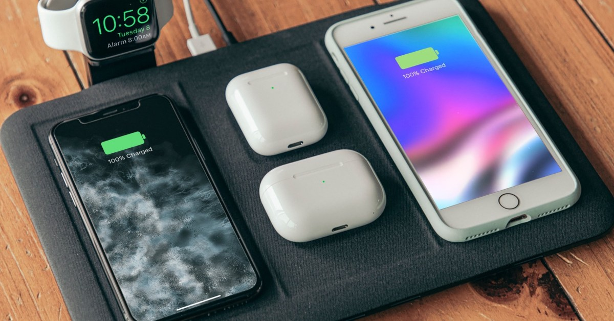 Refuel your entire Apple kit with mophie's 4-in-1 Wireless Charging Mat at $101 (Save 33%) - 9to5Toys