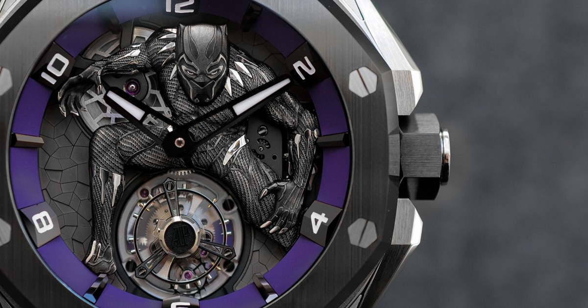 Would you buy this Black Panther watch for $5 million? - 9to5Toys
