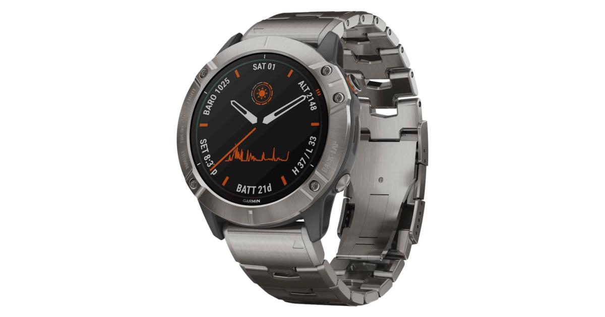 Save $350 on Garmin's fenix 6X Pro Titanium solar-powered smartwatch at an Amazon low - 9to5Toys