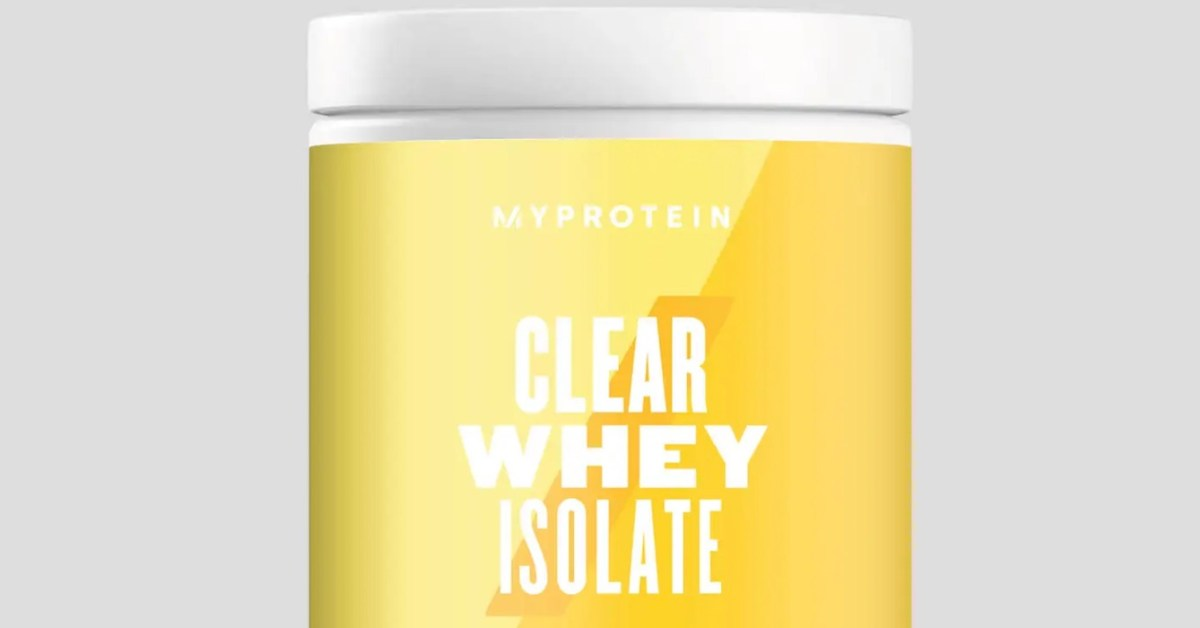 MyProtein now up to 66% off: 40-servings Clear Whey Protein Isolate $20 (Reg. $60), more - 9to5Toys
